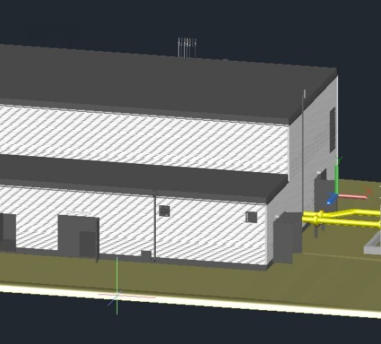 Photogrammetrie 3D-Vermessung Aufmaß UAV Drohne 3D-Modell Moers Düsseldorf NRW